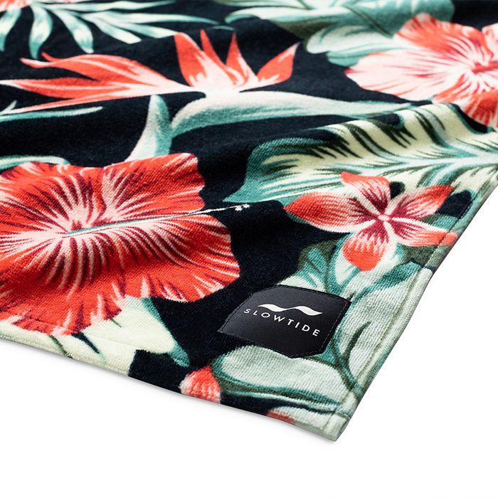 SLOWTIDE Towels TROPIX FLORAL BEACH TOWEL