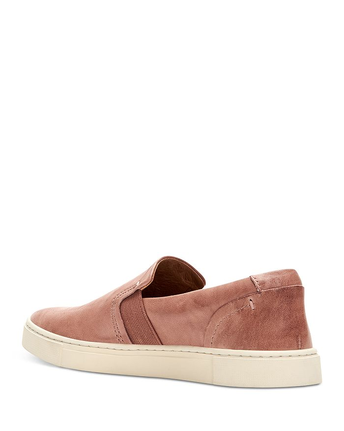 FRYE Low tops WOMEN'S IVY LEATHER LOAFER SNEAKERS