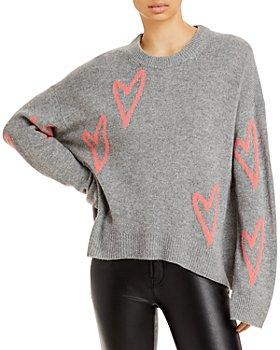 Zadig & Voltaire - Markus Hearts Cashmere Sweater