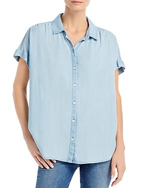 Rileah Denim Button Up Shirt