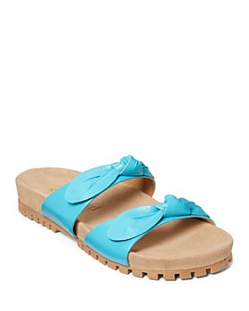 Jack Rogers - Women's Rose Double Knot Slide Sandals
