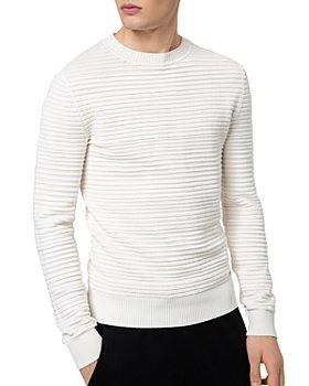 HUGO - Sottor Ottoman Rib Knit Sweater