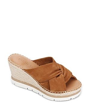 Women's Elyssa Braid Suede Espadrille Wedge Sandals
