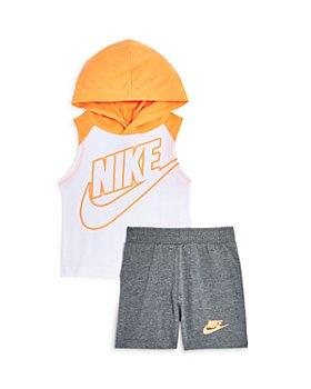 Nike - Boys' Night Games Sleeveless Hoodie & Shorts Set - Baby
