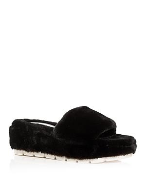 J/Slides Women's Willow Faux Fur Slide Slippers
