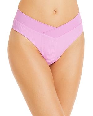 L*Space Court Textured Bikini Bottom