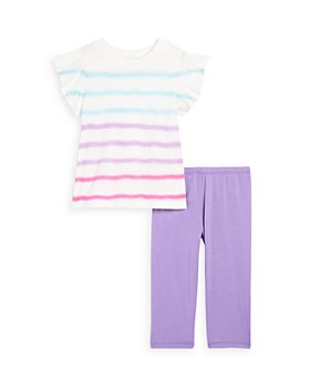 Splendid - Girls' Tie Dyed Top & Leggings Set - Little Kid