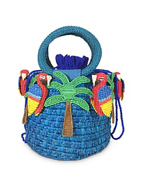SERPUI - Lauren Macaw Mini Basket Bag