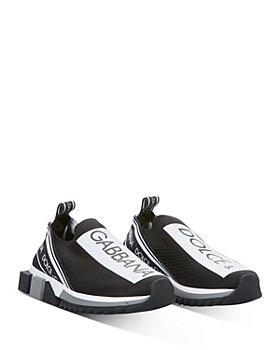 Dolce & Gabbana - Women's Logo Slip-On Sneakers