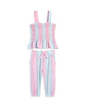 Splendid - Girls' Ojai Stripe Tank Top & Pants Set - Little Kid