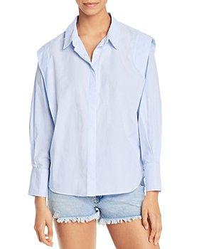 Sundays - Zuri Pinstriped Button Down Shirt