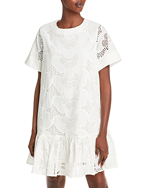 Milly Dresses BRYNN EYELET DRESS