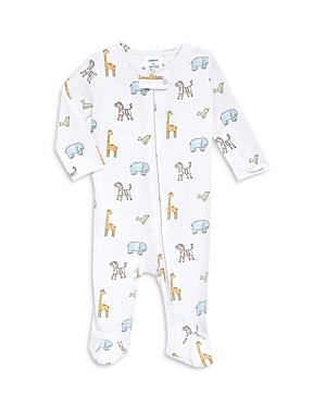 Aden and Anais Unisex Animals Print Comfort Zip Front Footie - Baby