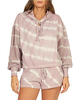Vintage Havana - Tie Dyed Hoodie & Shorts (48%-60% off) – Comparable value $58-$74
