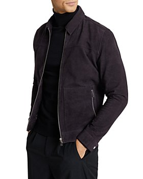 REISS - Lace Suede Jacket