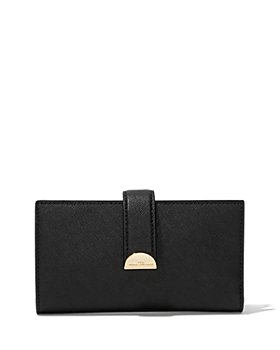 MARC JACOBS - Half Moon Leather Continental Wallet