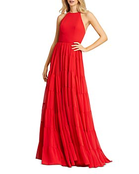 Mac Duggal - High Neck Long Dress
