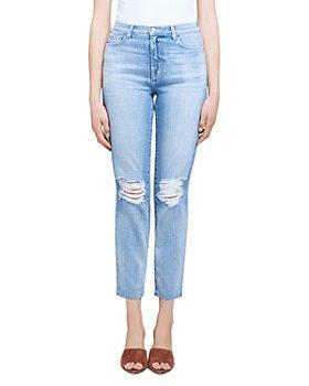 L'AGENCE - El Matador French Slim Jeans in Glacier