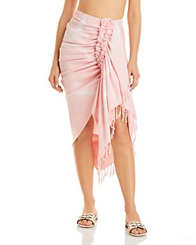 JUST BEE QUEEN - Tulum Sarong Skirt Swim Cover-Up