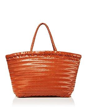 AQUA - Large Basket Weave Tote - 100% Exclusive