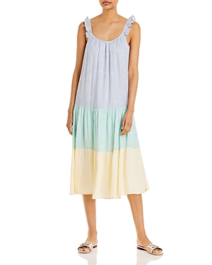 Rails Capri Striped Midi Dress