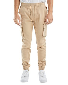 nANA jUDY - Prime Cotton Blend Regular Fit Cargo Jogger Pants