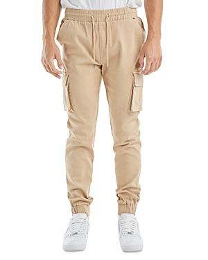 nANA jUDY Prime Cotton Blend Regular Fit Cargo Jogger Pants