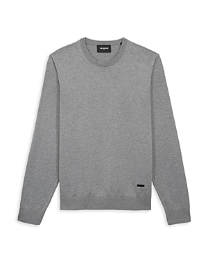 The Kooples Cotton Solid Crewneck Sweater