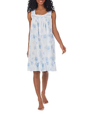 Floral Print Short Nightgown