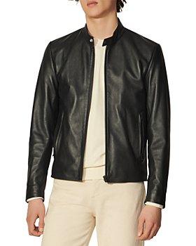 Sandro - Leather Biker Jacket