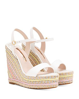 Sophia Webster - Women's Lucita Wedge Espadrille Sandals