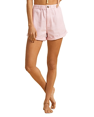 x The Salty Blonde Sun Bleached Shorts