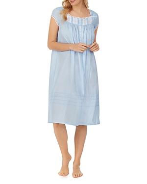 Sheer Striped Waltz Nightgown