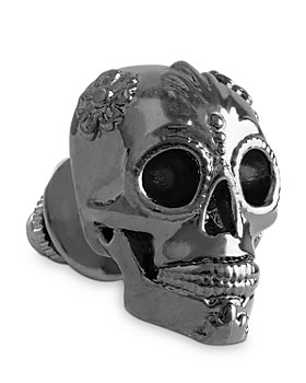 THOMPSON OF LONDON - 3D Candy Skull Tie Pin