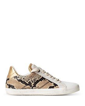 Zadig & Voltaire - Women's Wild Low Top Sneakers