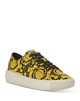 Versace - Men's Printed Canvas Sneakers