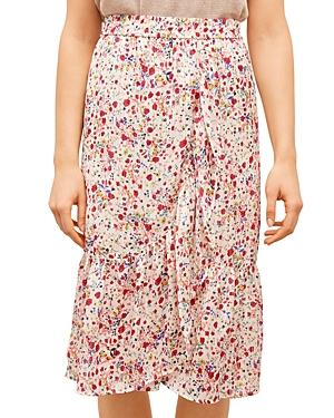 Jupe Floral Midi Skirt