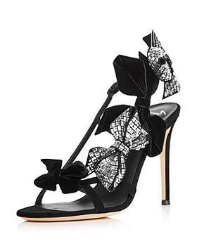 Giuseppe Zanotti - Strappy Embellished Bow High Heel Sandals