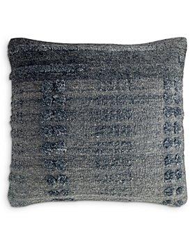 "Mitchell Gold Bob Williams - Charcoal Zag Pillow, 20"" x 20"""