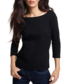Eileen Fisher Ballet Neck Tee - Bloomingdale's_0
