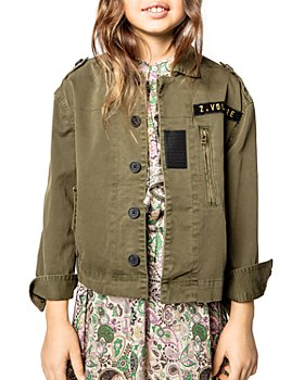 Zadig & Voltaire - Girls' Jess Blazer - Little Kid, Big Kid
