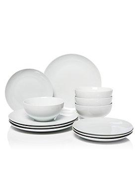 Hudson Park Collection - Coupe 12 Piece Dinnerware Set - 100% Exclusive