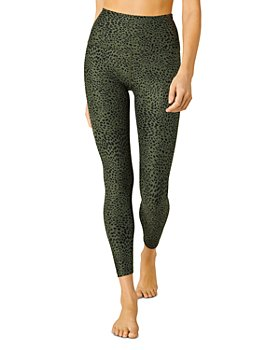 Beyond Yoga - Leopard Spacedye High Waist Midi Leggings
