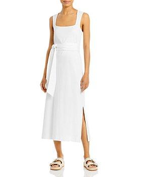 Vince - Belted Midi Dress