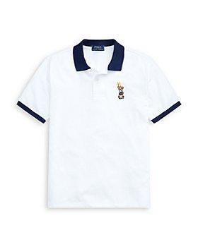 Ralph Lauren - Boys' Sparkler Bear Cotton Polo Shirt - Little Kid, Big Kid