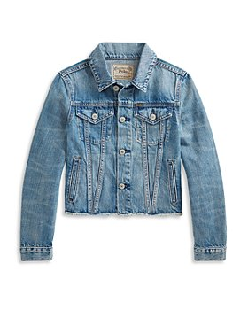 Ralph Lauren - Girls' Polo Denim Jacket - Little Kid, Big Kid