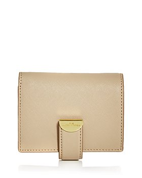 MARC JACOBS - Half Moon Small Leather French Wallet