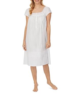 Waltz Cotton Lace Trim Nightgown