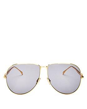 Fendi - Women's Aviator Sunglasses, 63mm