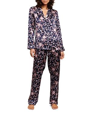 Long Silk Pajama Set